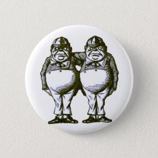 Tweedle Dee & Tweedle Dum Button