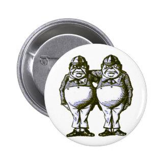 Tweedle Dee & Tweedle Dum Pins