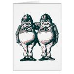 Tweedle Dee & Tweedle Dum Cards