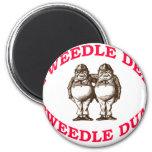 Tweedle Dee y Tweedle Dum Imanes