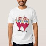 Tweedle Dum and Dee Disney T Shirts