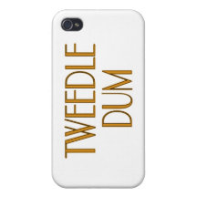 Tweedle Dum Covers For iPhone 4