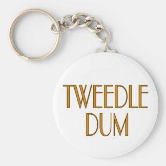 Tweedle Dum Keychain