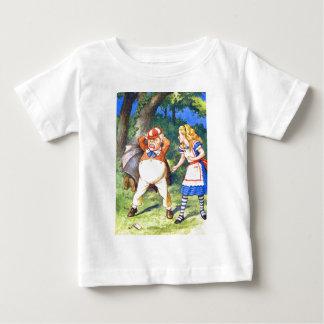 TWEEDLE DUM LOSES IT IN FRONT OF ALICE BABY T-Shirt