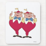 Tweedle Dum y Dee Disney Alfombrilla De Ratón