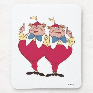 Tweedle Dum y Dee Disney Alfombrilla De Raton