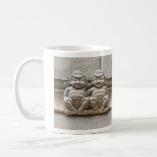 Tweedledee and Tweedledum gargoyle mug