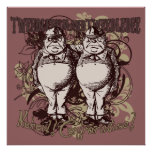 Tweedledum & Tweedledee Carnivale Style Posters