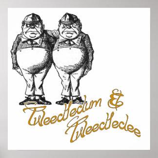 Tweedledum & Tweedledee Poster