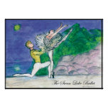 Tweet 2009 Swanlake ballet poster by Latidaballet