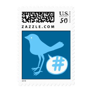 Tweet a hash Postage