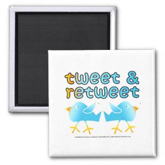 Tweet And Retweet Magnets
