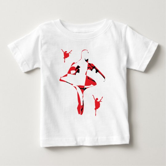 Tweet Artyballet Design Baby T-Shirt