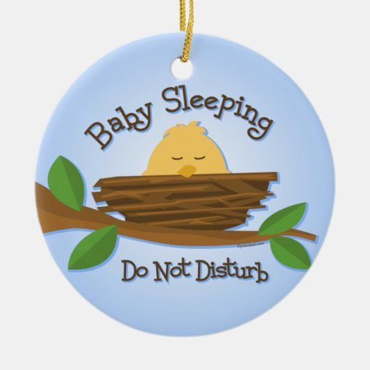 Tweet Baby Nursery Door Hanger Ornament