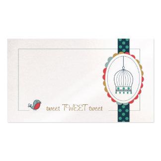 Tweet Business Cards