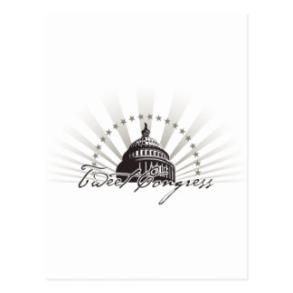 Tweet Congress Gear Postcard