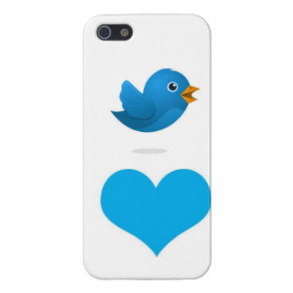 Tweet Heart Cover For iPhone SE/5/5s