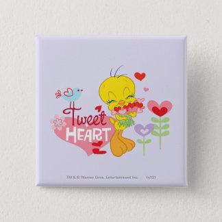 Tweet Heart Pinback Button