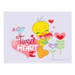 Tweet Heart Postcard