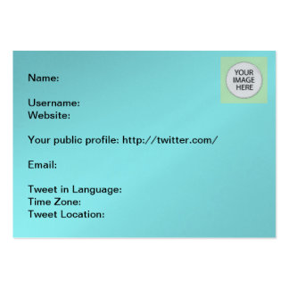 Tweet Info The MUSEUM Zazzle Gifts Business Card Template