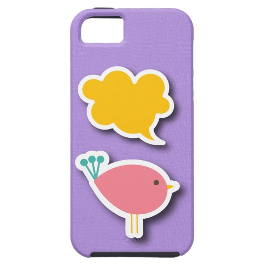 Tweet iPhone 5 Case - SRF