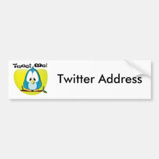 Tweet Me Bumper Sticker