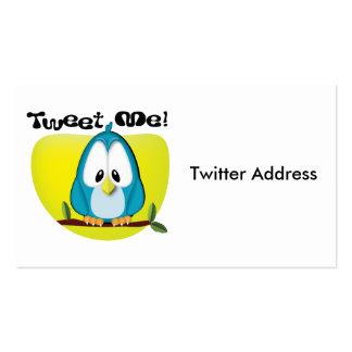 Tweet Me Business Card