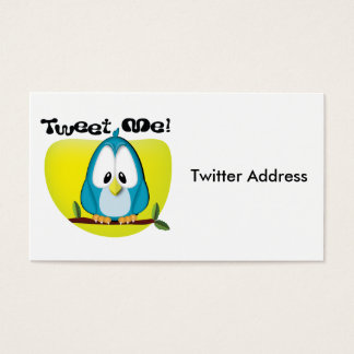 Tweet Me Business Card