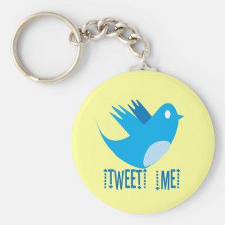 Tweet ME Keychain