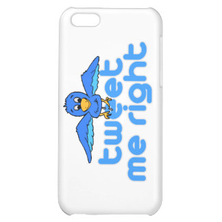 Tweet Me Right iPhone 5C Covers