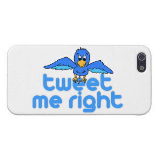 Tweet Me Right iPhone 5 Cover