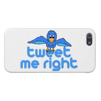 Tweet Me Right iPhone SE/5/5s Case