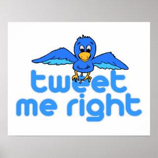 Tweet Me Right Poster