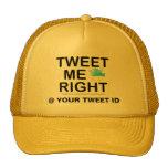 Tweet Me Right WHT2228 Mesh Hats