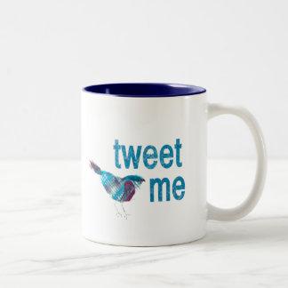 Tweet ME Two-Tone Coffee Mug