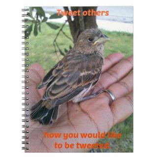 Tweet Others Spiral Notebook