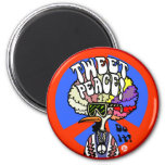 Tweet Peace! magnet