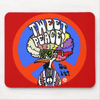 Tweet Peace mousepad