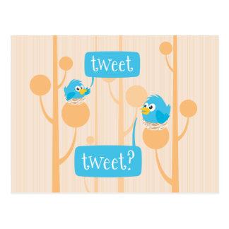 Tweet Postcard