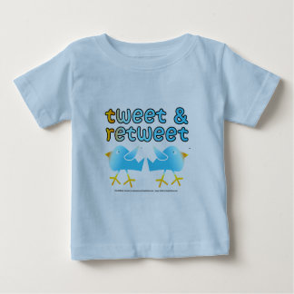 Tweet & Retweet Baby Infant Tees