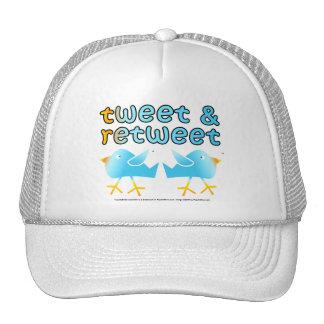 Tweet & Retweet Hat - Cap