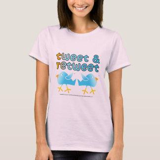 Tweet & Retweet Womens Light Tees