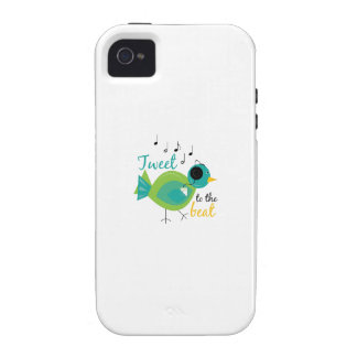 Tweet The Beat Vibe iPhone 4 Covers