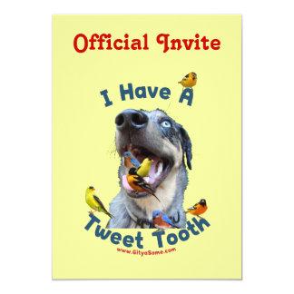 Tweet Tooth Bird Dog Card