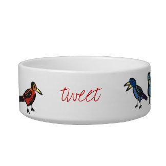 Tweet Treat Pet Bowl