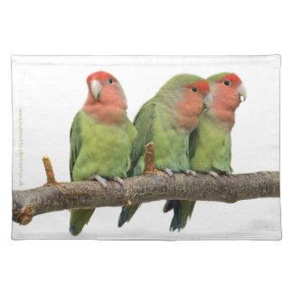 Tweet Trio American MoJo Placemats
