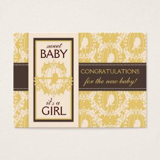 Tweet Tweet Baby Gift Tag