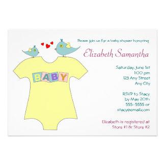 Tweet Tweet Baby Shower Invitations