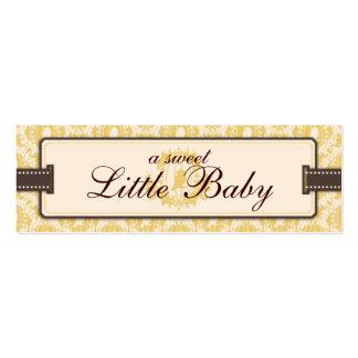 Tweet Tweet Baby Skinny Gift Tag Mini Business Card