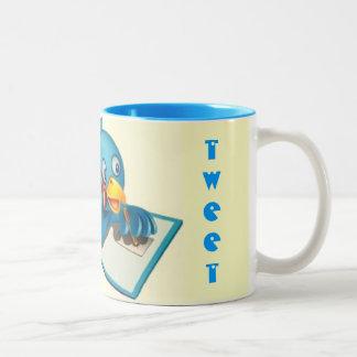 Tweet Tweet Blue Mug